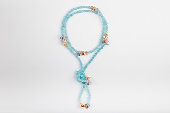 Picture of CHARLESTON NECKLACE BLUE