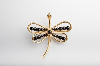 Picture of DRAGONFLY BROOCH BLACK