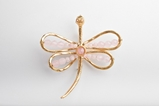 Picture of DRAGON FLY BROOCH PINK