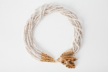 Picture of AMAPOLA NECKLACE PEARL