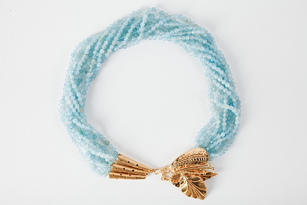Picture of AMAPOLA NECKLACE BLUE