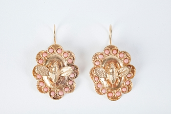 Picture of FLY EARRINGS CORAL