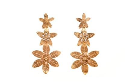 Picture of EDELWEISS EARRING CORAL