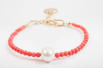 Picture of FULL MOON BRACELET CORAL