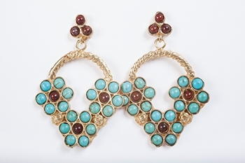 Picture of PROVENZAL EARRING TURQUOISE