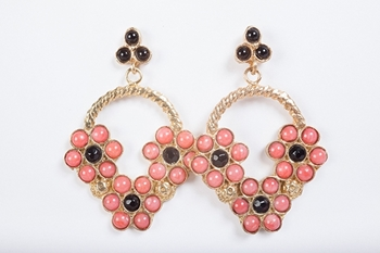 Picture of PROVENZAL EARRING CORAL