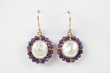 Picture of CATALINA EARRING PURPLE