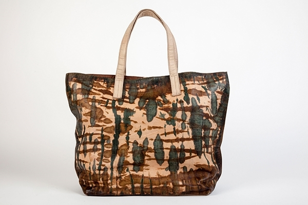 Picture of MILITARY TIE DYE SHOPPING BAG