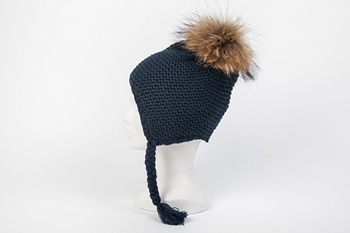 MINI AVIATOR HAT NAVY BLUE