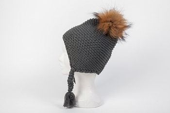 Picture of MINI AVIATOR HAT GREY