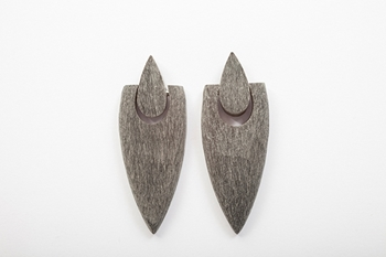 Picture of PUNK HORN EARRING MATTE