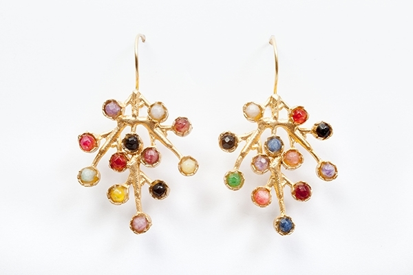 Picture of PUNTILLISTA EARRING MULTICOLOR