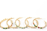 Picture of LOOP EARRING MULTICOLOR