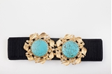 Picture of SUNFLOWER BELT TURQUOISE