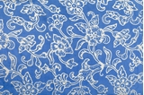 Picture of XL SILK SCARF BLUE 1