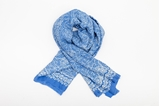 Picture of XL SILK SCARF BLUE 2