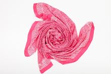 Picture of XL SILK SCARF PINK 1