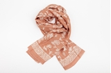Picture of XL SILK SCARF BROWN 2
