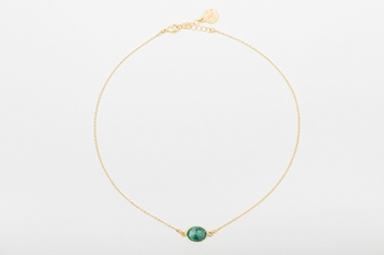 Picture of OVAL NECKLACE GREEN