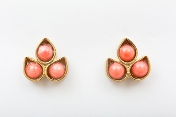 Picture of LIS EARRINGS CORAL
