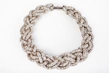 Picture of PLAITED NECKLACE SILVER