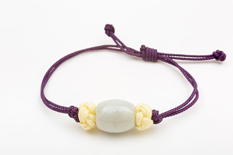 Picture of BARREL JADE BRACELET PURPLE