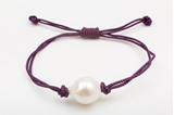 Picture of SINGLE PEARL BRACELET PURPLE