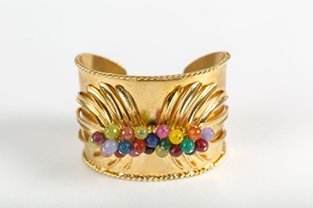 Picture of TROPICAL CUFF BRACELET MULTICOLOR
