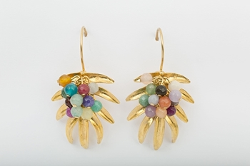 Picture of TROPICAL EARRING MULTICOLOR