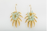 Picture of TROPICAL EARRING AQUAMARINE