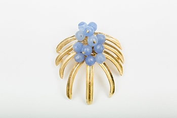 Picture of TROPICAL BROOCH BLUE