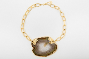 Picture of AGATA NECKLACE PINK