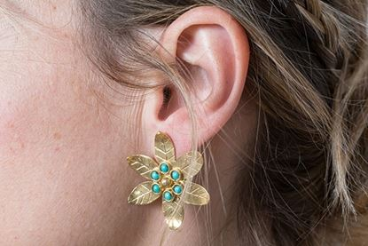 Picture of LILY EARRING TURQUOISE