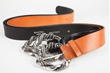 Picture of SNAKE BELT TAN - M