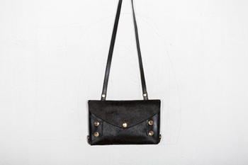 Picture of BLACK ENVELOPE CLUTCH BAG