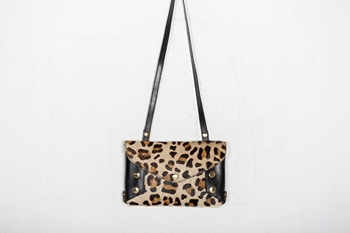 Picture of LEOPARD ENVELOPE CLUTCH BAG