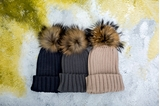 Picture of POMPON HAT GREY/ ADULT
