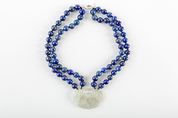 Picture of LAPIS SHORT JADE NECKLACE