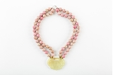 Picture of PINK SHORT JADE NECKLACE
