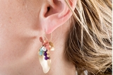 Picture of FLAMINGO EARRINGS-VIVID COLOR