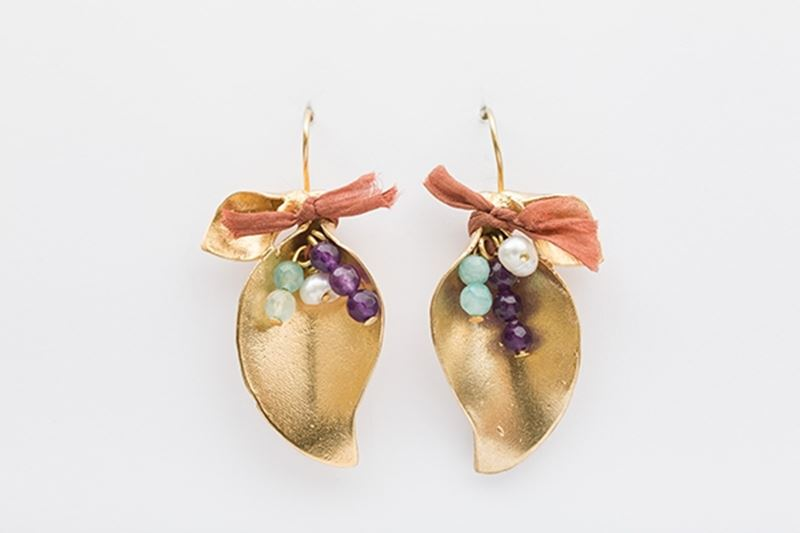 Picture of FLAMINGO EARRINGS-PASTEL