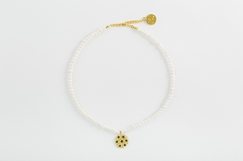BLOSSOM NECKLACE - PEARL