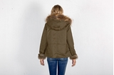 Picture of MILITARY SHORT PARKA RABBIT/FOX -XS