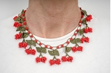 Picture of CHERRY SHORT RED NECKLACE