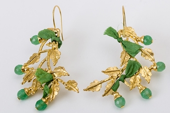 Picture of HIEDRA EARRING - GREEN