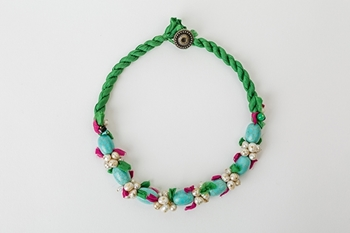 Picture of SPRING NECKLACE - TURQUOISE