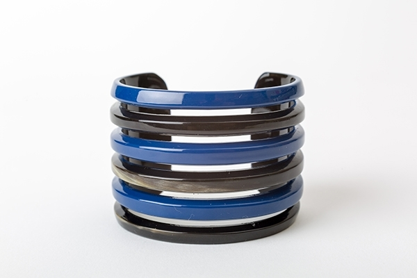 Picture of MIRÓ HORN BRACELET BLUE