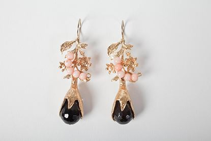 Picture of LEA EARRINGS BLACK