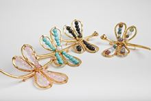 Picture of DRAGONFLY BROOCH TOURMALINE