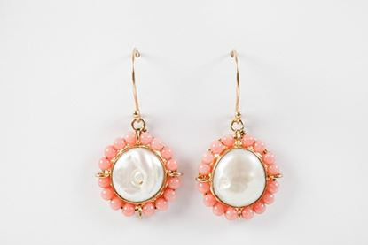 Picture of CATALINA EARRING CORAL